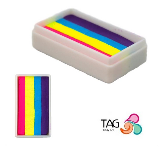 TAG Paint 1 Stroke - EXCL Super Rainbow with Neon Magenta #0 - Jest Paint Store