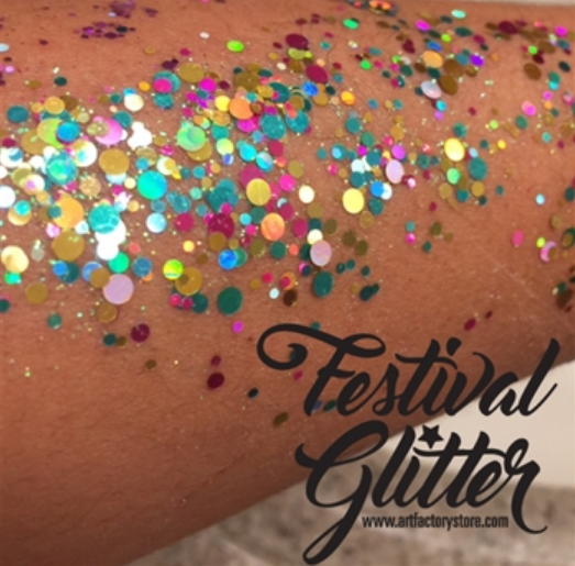 Festival Glitter - Chunky Glitter Gel - Unicorn Pop - 1.5 oz SWATCH