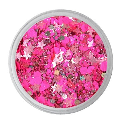 VIVID Glitter | Loose Chunky Hair and Body Glitter | Watermelon (7.5gr)
