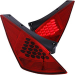 ANZO 2003-2005 Nissan 350Z LED Taillights Red
