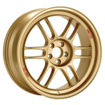Enkei RPF1 18x8 5x100 45mm Offset 56mm Bore Gold Wheel 02-10 WRX & 04 STI