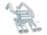 Borla 05-08 Corvette Convertible/Coupe 6.0L/6.2L 8cyl SS S-Type Exhaust (REAR SECTION ONLY)