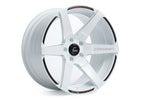 Cosmis Racing S1 White w/ Milled Spokes 18x10.5 +5mm 5x114.3 Wheel