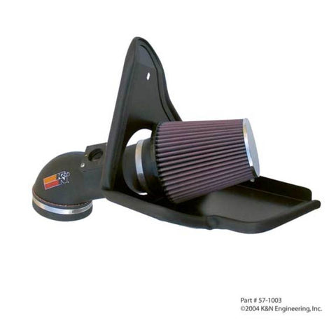 K&N 01-05 BMW M3 3.2L F/I Performance Intake Kit