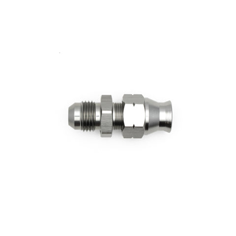 "DeatschWerks 6AN Male Flare to 5/16"" Hardline Compression Adapter (Incl. 1 Olive Insert)"