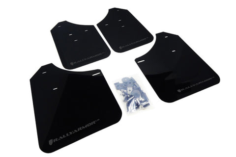 Rally Armor 02-07 Subaru WRX/STI/RS/2.5i (wagons req mod) UR Black Mud Flap w/ Grey Logo