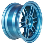 Enkei RPF1 17x9 5x114.3 22mm Offset 73mm Bore Emerald Blue Wheel