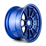 Enkei NT03+M 18x9.5 5x114.3 40mm Offset 72.6mm Bore Victory Blue Wheel G35/350z