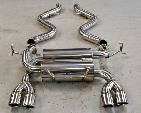 AP 08-09 BMW E92 M3 Stainless Steel Exhaust w/ Polished Tips