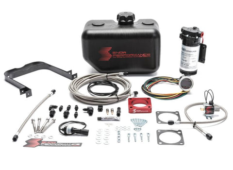 Snow Performance 08-15 Evo Stg 2 Boost Cooler Water Injection Kit w/SS Braid Line & 4AN Fittings