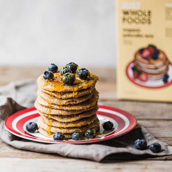 The Tastiest Organic Pancakes