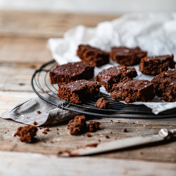 Deliciously Gooey Plant-based Brownies