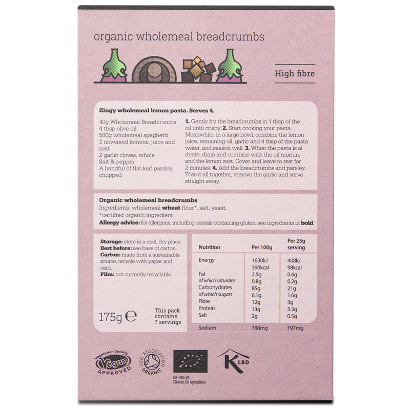Organic Wholemeal Breadcrumbs