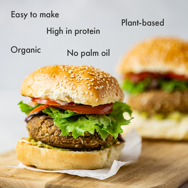 Organic & Vegan Burger Mix