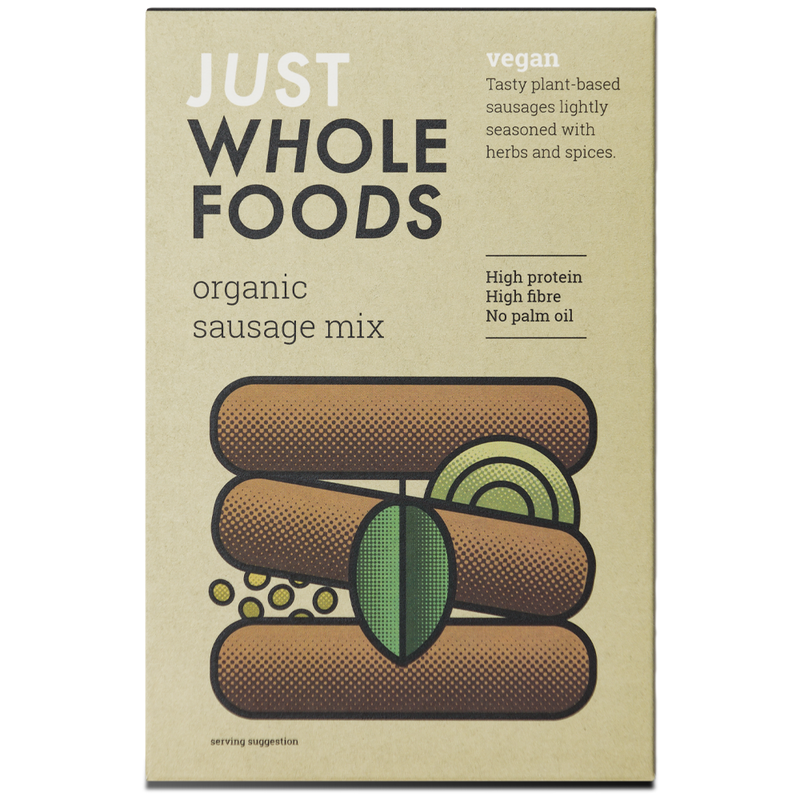Organic & Vegan Sausage Mix