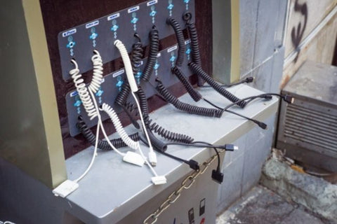 mobile phone Charging Stations