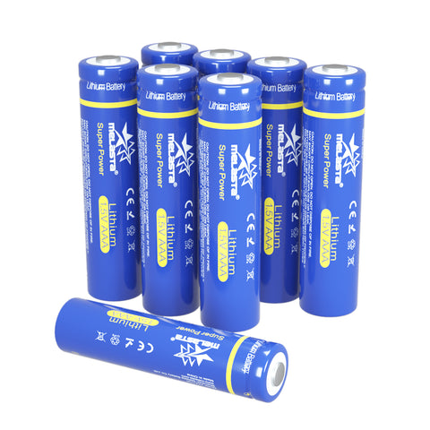 LiFeS2 AAA FR03 1.5V 1100mAh Lithium Primary Battery