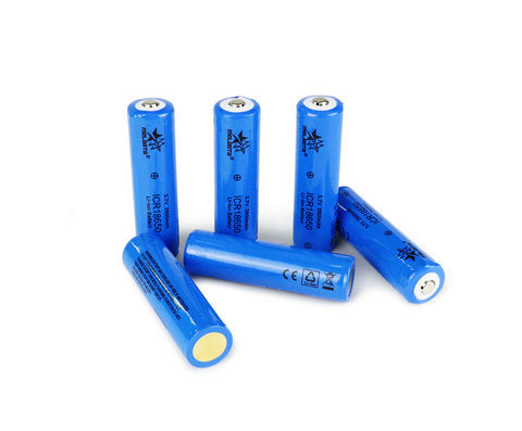 18650 3.7V 2600mAh Li-ion battery  for flashlight