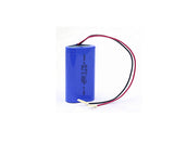 2 pack Li-ion 18650 7.4V 2600mAh Battery Pack for flashlight