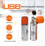 4 pack 1.5V 1200 mAh Rechargeable battery for AA Size