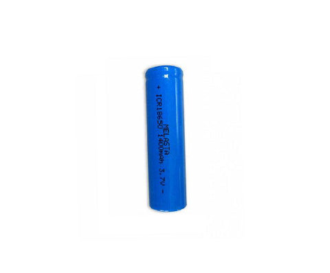 4 pack 18650 1400mAh 3.7V Li-ion Battery for flashlight