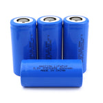 4pcs Lifepo4 32650 3.2V 6500mAh Rechargeable Battery
