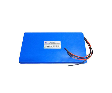 36V 10Ah Lithium Polymer  echargeable battery pack