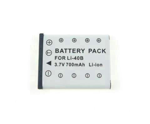 3.7V 700mAh Li-ion Battery for Olympus LI-40B