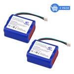 2pcs 7.2V ni-mh battery for iRobot Mint 5200 Braava 380t