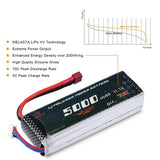 11.1V 5000mAh Lipo RC Battery for Hobby  Drone  FPV