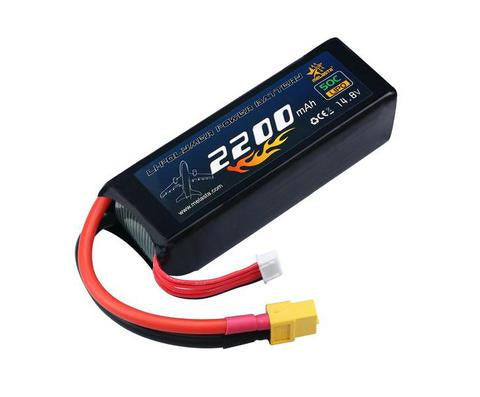 14.8V 2200mAh Lipo Battery with XT60 for RC Drone