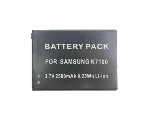 3.7V 2500mAh Battery for Samsung alaxy Note 2