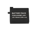 3.8V 1160mAh Li-ion Battery For GoPro Hero4 AHDBT401