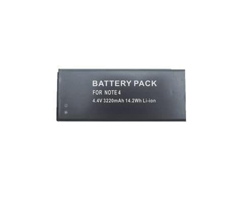 3220mAh Li-ion battery for Samsung Galaxy Note4