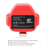 12v 3000mAh NIMH Replacement Battery for Makita