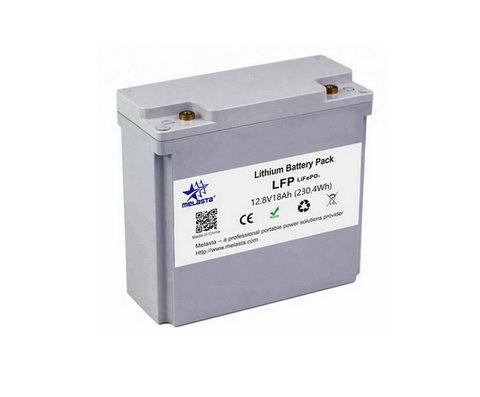 12V 18A  LiFePO4 Battery replacement of lead acid battery