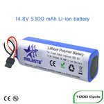 14.8V 5300mAh Lithium Battery for xiaomi Mijia