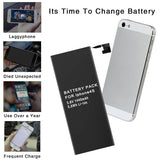 1440mAh battery For iPhone 5 Lithium Polymer Battery