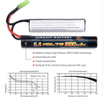 8.4v 1600mAh  Battery  for Airsoft Guns Mini AK series