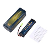 2/3A 9.6v 1600mAh NiMH  Battery  for  Airsoft Guns