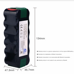 3.5Ah 14.4V NIMH Replacement battery for iRobot Roomba