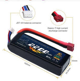 11.1V 2200mAh Lipo Battery  with DT Plug for Drone