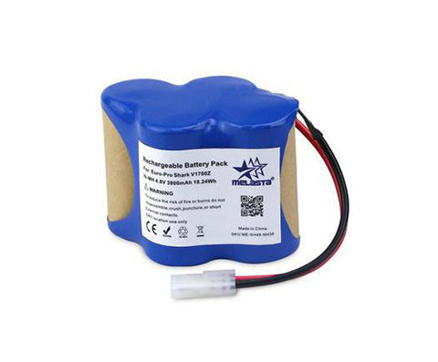 4.8V 3800mAh NiMH Battery for Euro-Pro Shark