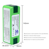 6.4Ah 14.8V Li-ion Replacement Battery  for iRobot Roomba