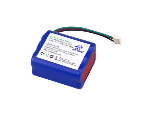 7.2V 2500mAh NiMH Battery for iRobot Mint 5200 Braava 380