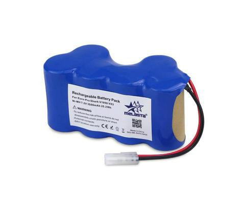 7.2v 3500mAh Ni-MH Battery for  Euro-Pro Shark