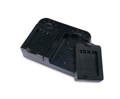 Dual Battery Charger with USB Port for Nikon EN-EL12 Battery