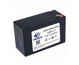 12V 7.5Ah ABS case rechargeable LiFePO4  battery pack