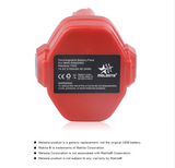 12V 2.1Ah NI-CD  Battery Replacement battery for Makita