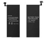 1350mAh battery For iPhone 4s Lithium Polymer Battery